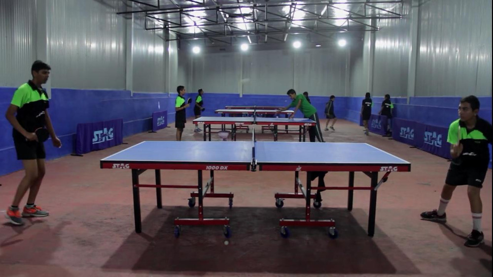 Table Tennis Academy in haridwar: Whizzkid international School