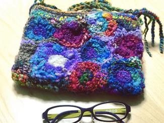 モチーフ編みで。。。