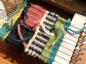 素敵な羊毛アートができました。
