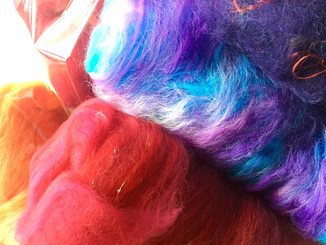 オリジナルの毛糸作ります♪