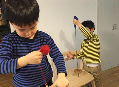 お子様向け糸紡ぎ体験のご案内