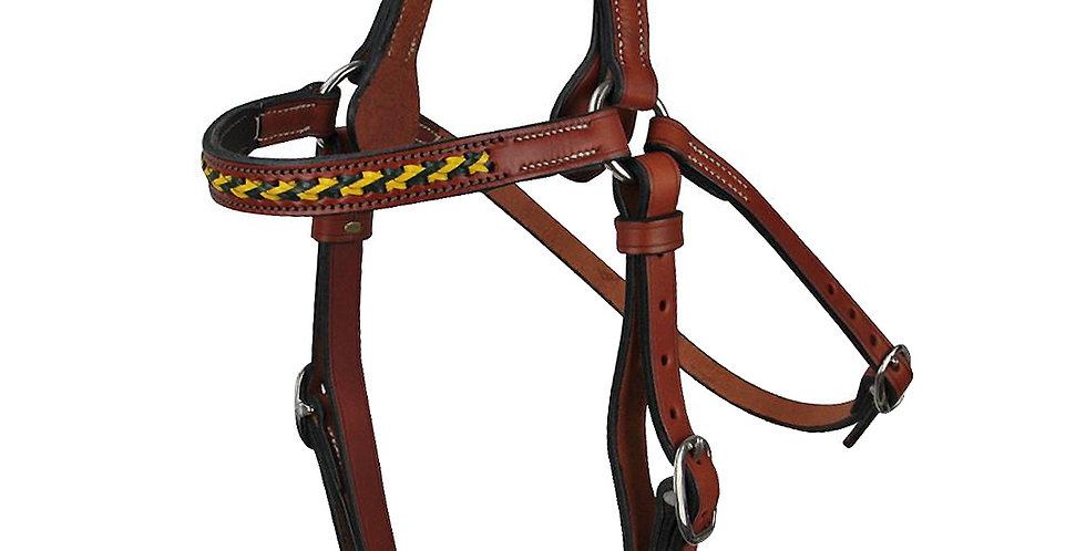 Braided Brow Bridle