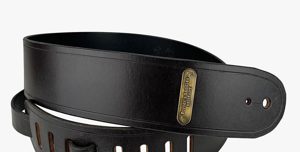 Plain Leather Guitar Strap