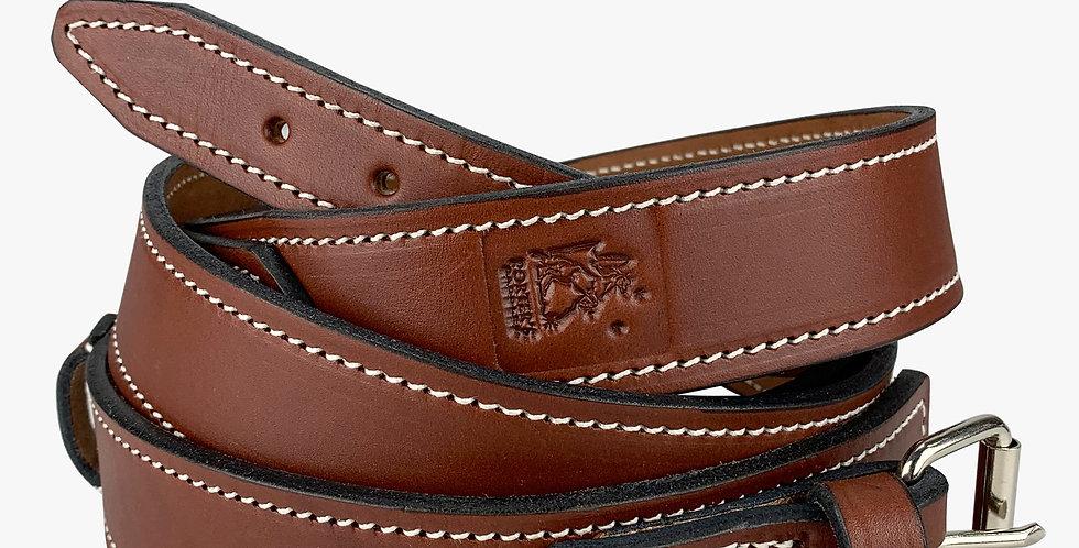 Leather Stock Saddle Surcingle