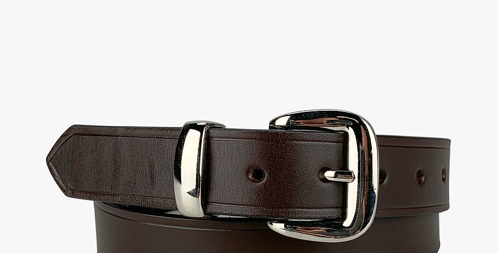 Leather Dress Belt Brown - 1 1/4""