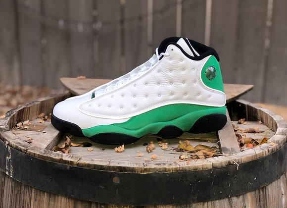 """Air Jordan 13 Retro White """"Lucky Green"""""""