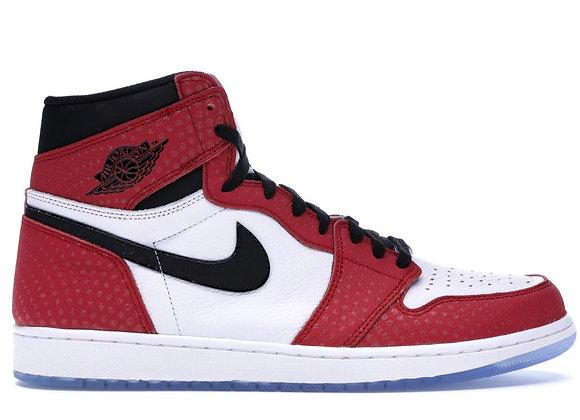 "Air Jordan 1 Retro High ""Spider-Man Origin Story"""