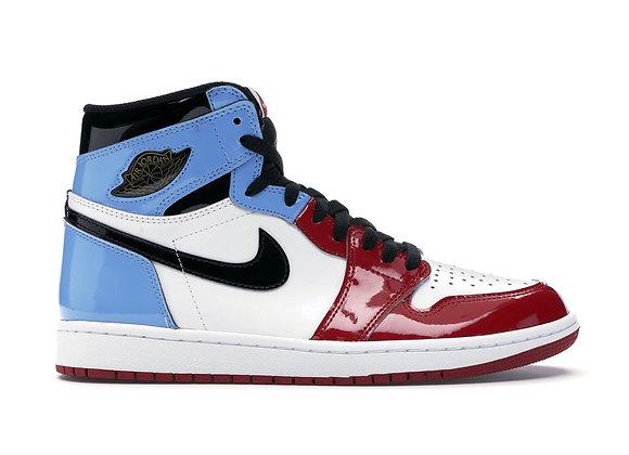 """Air Jordan 1 High Fearless """"UNC Chicago"""""""