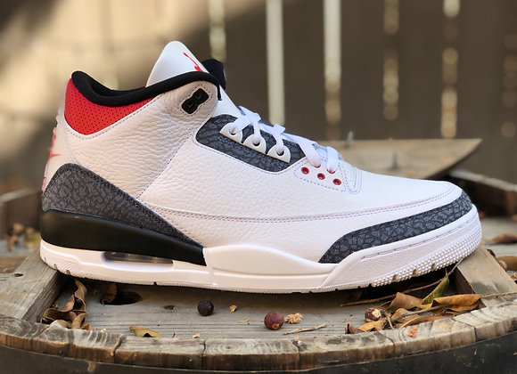 "Air Jordan 3 Retro SE Fire Red ""Denim"" (2020)"