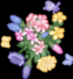 Hirschbeg Gin Blumenstrauß