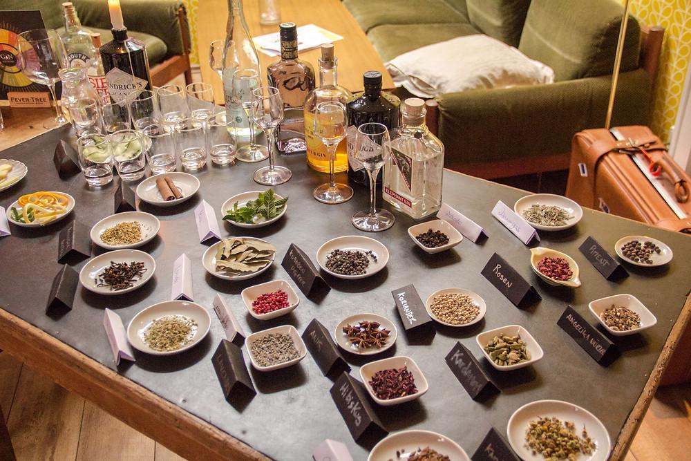 Gin Tasting Ehrenfeld