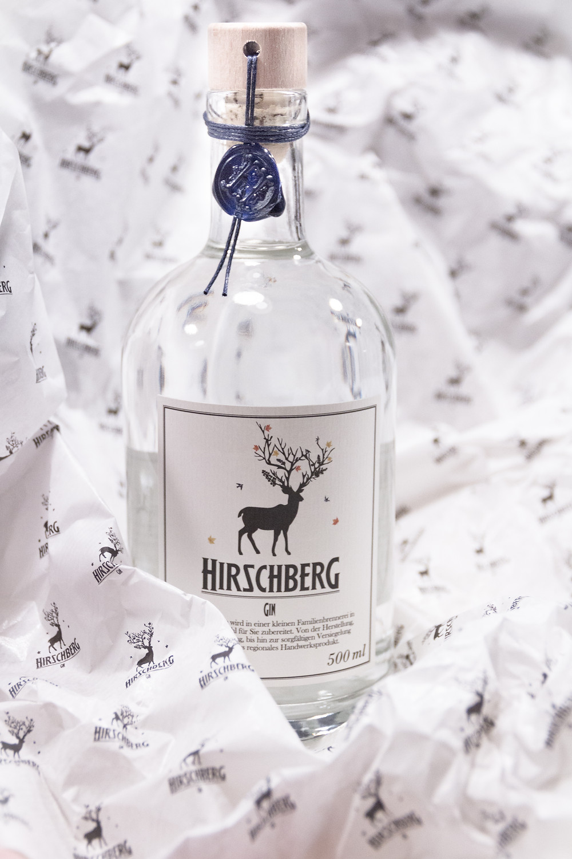 Hirschberg Gin, Design, Unboxing