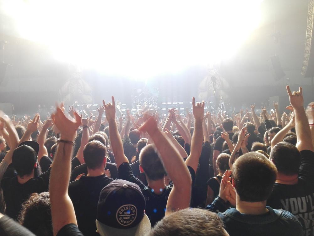 Korn Konzert in Bratislava, Hirschberg Gin war da!