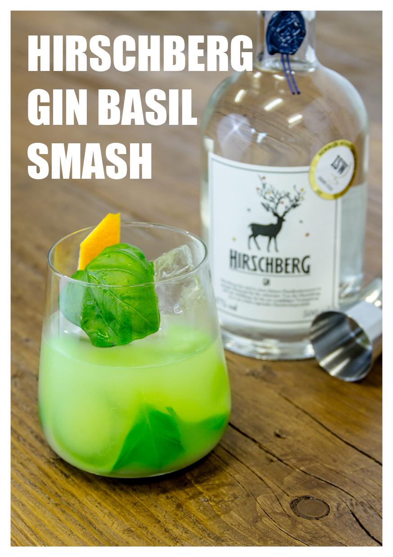 Hirschberg Gin Basil Smash