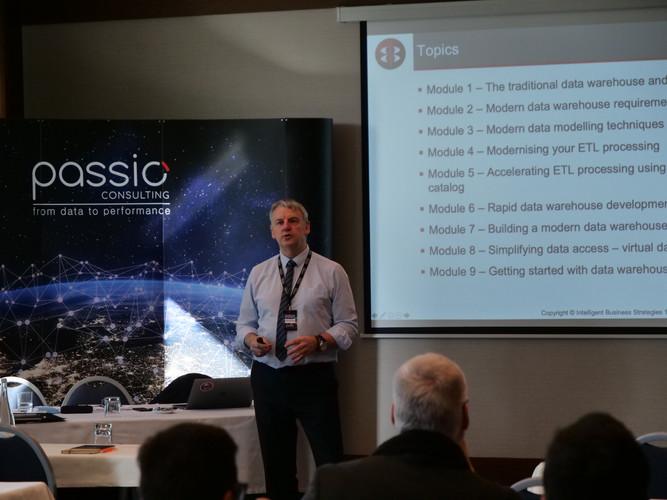 """Data Warehouse Modernisation"" seminar, with Mike Ferguson."
