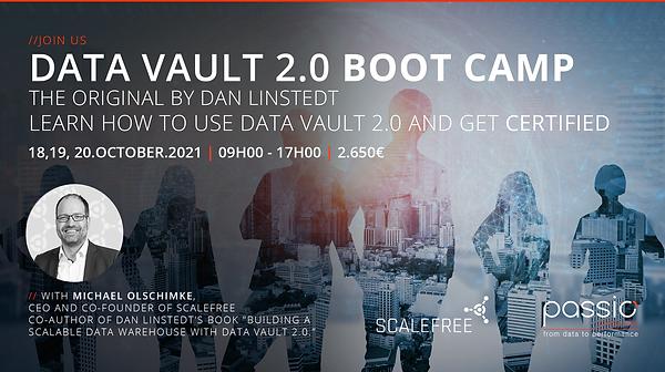 Data Vault 2.0 Boot Camp