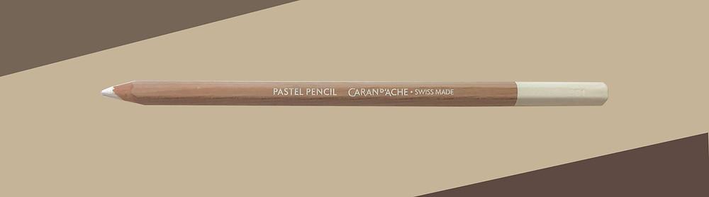 Caran D'Ache Chinese White pastelpotlood