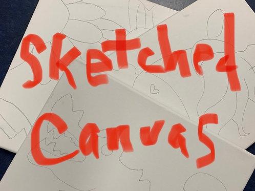 Sketched Canvas