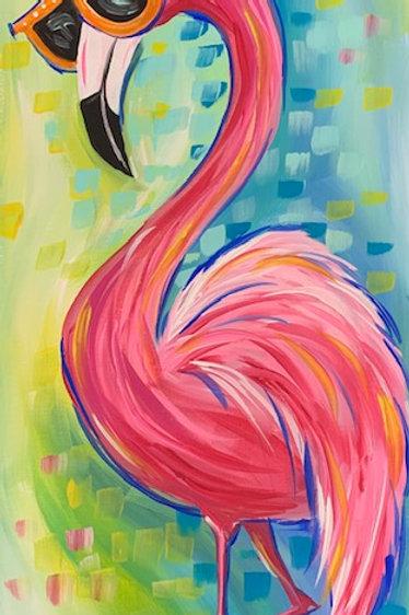 Flashy Flamingo