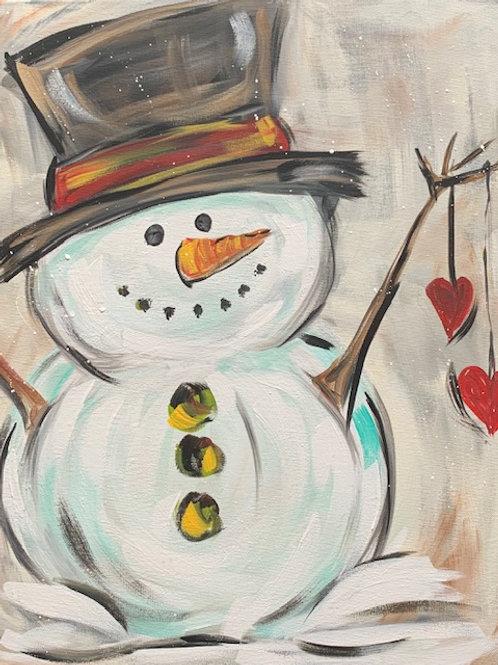 Boutique Snowman