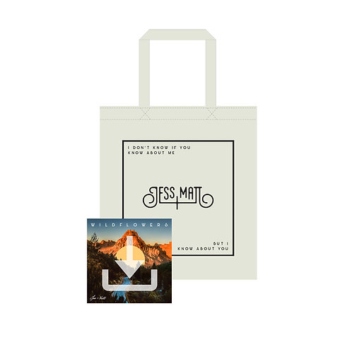 WILDFLOWERS ALBUM DOWNLOAD + SIGNED TOTE BAG