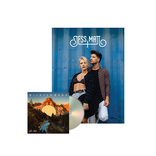 SIGNED WILDFLOWERS CD (including 24 page lyric booklet) + SIGNED POSTER