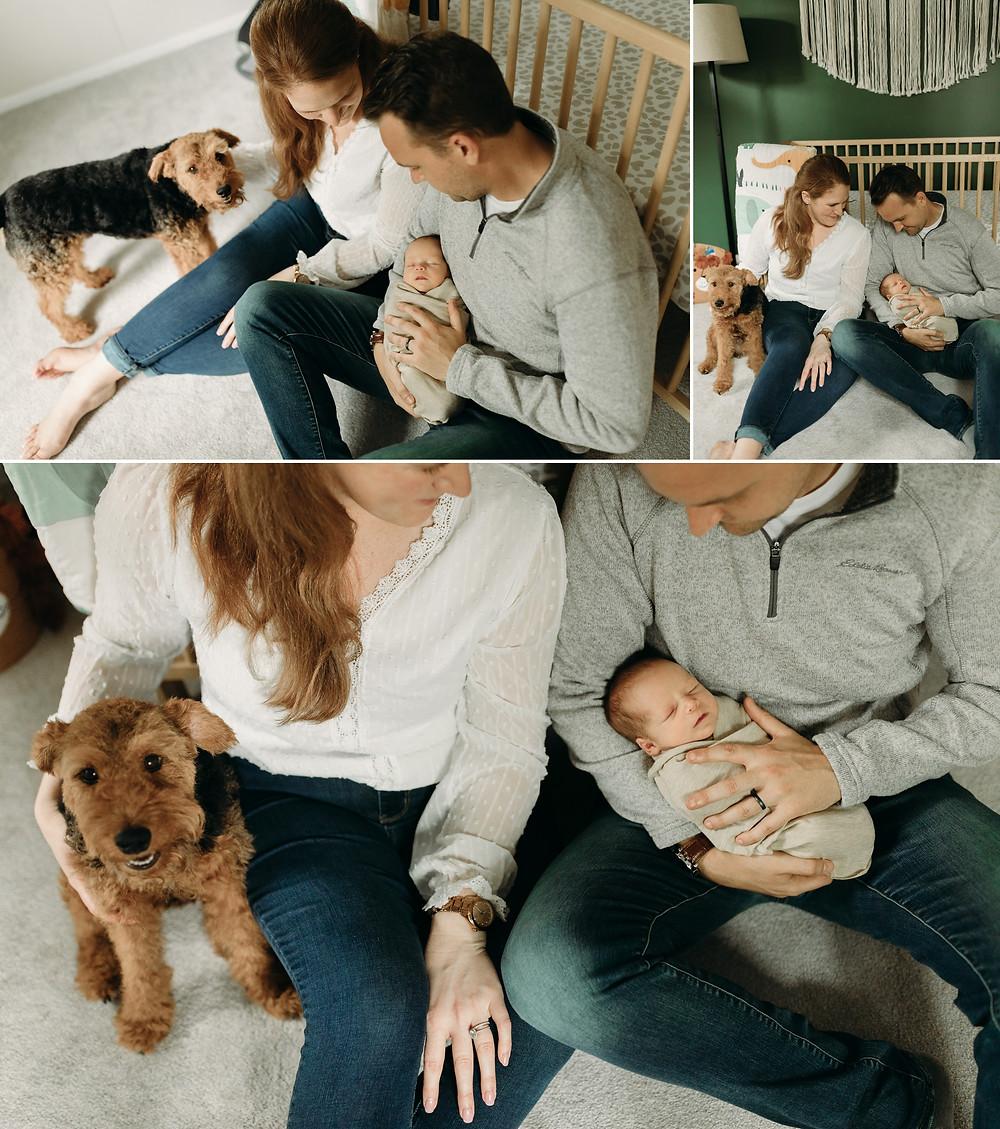 madison wisconsin lifestyle newborn session