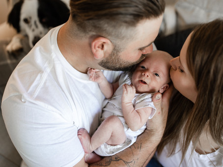 Baby Maxwell | Lifestyle Newborn Session, Madison WI