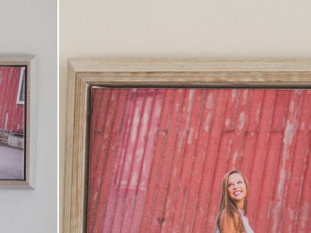 Framed Float Canvas