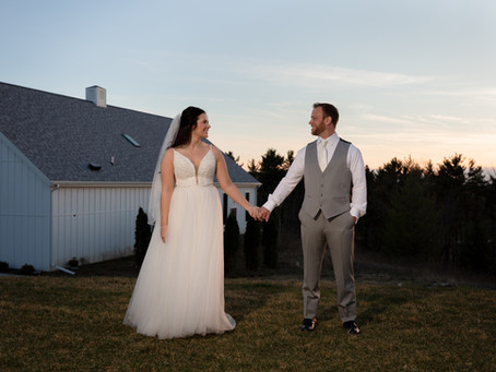 Jamie + Hayden | Wisconsin Wedding at The Fields Reserve April 26th 2019