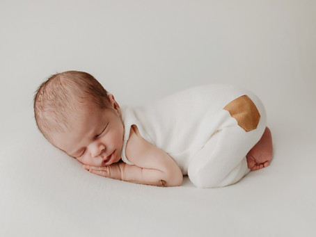 Sun Prairie, Wisconsin Newborn Photographer   Cameron's Newborn Session