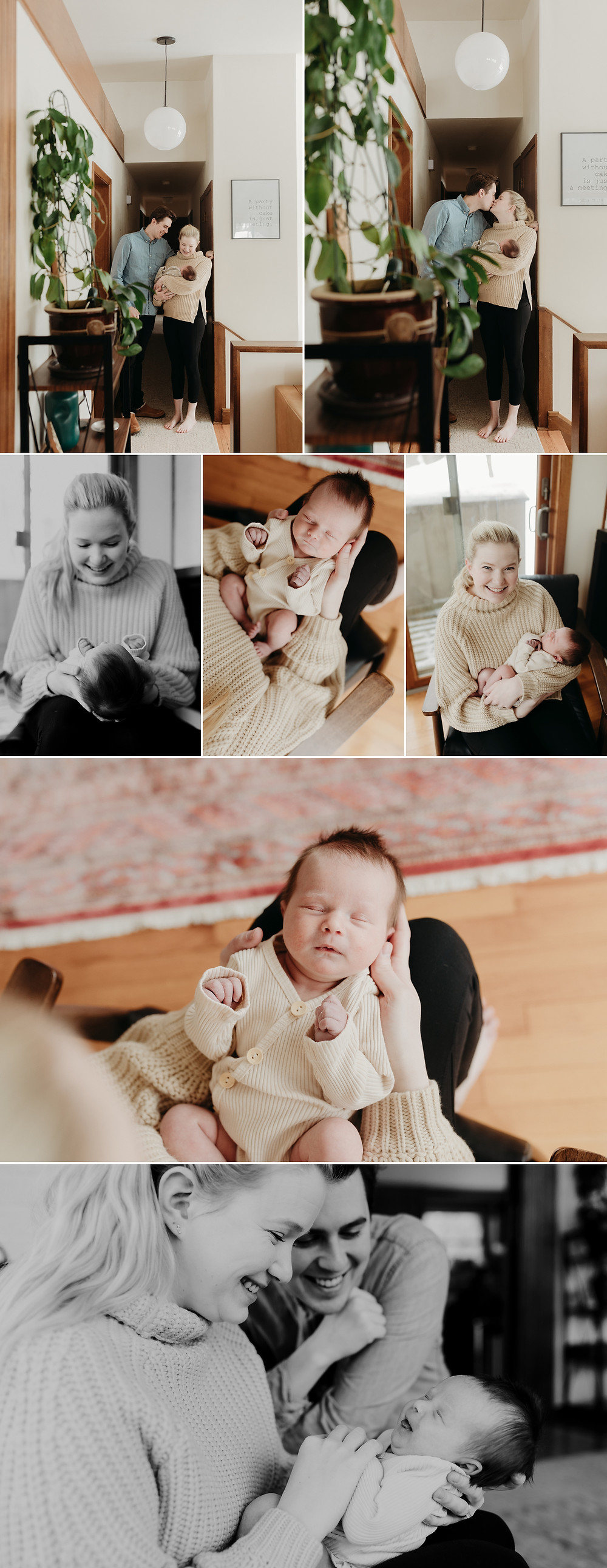 newborn lifestyle photography session sun prairie wisconsin