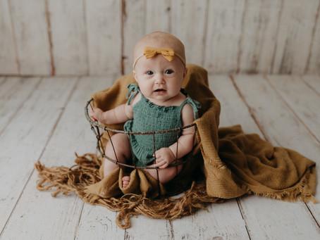 Sun Prairie Family Photographer | Sloan, 4 Months