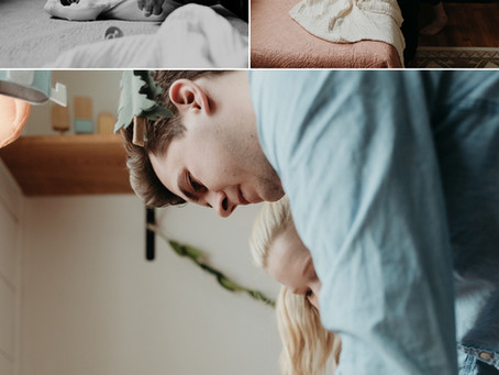Chloe [In Home Lifestyle Newborn Session]