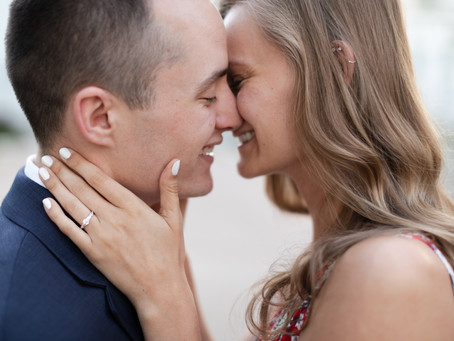 She said Yes! | Downtown Madison Proposal at the Capital