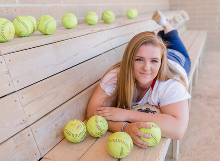 A State Champion Rocks her Softball Session