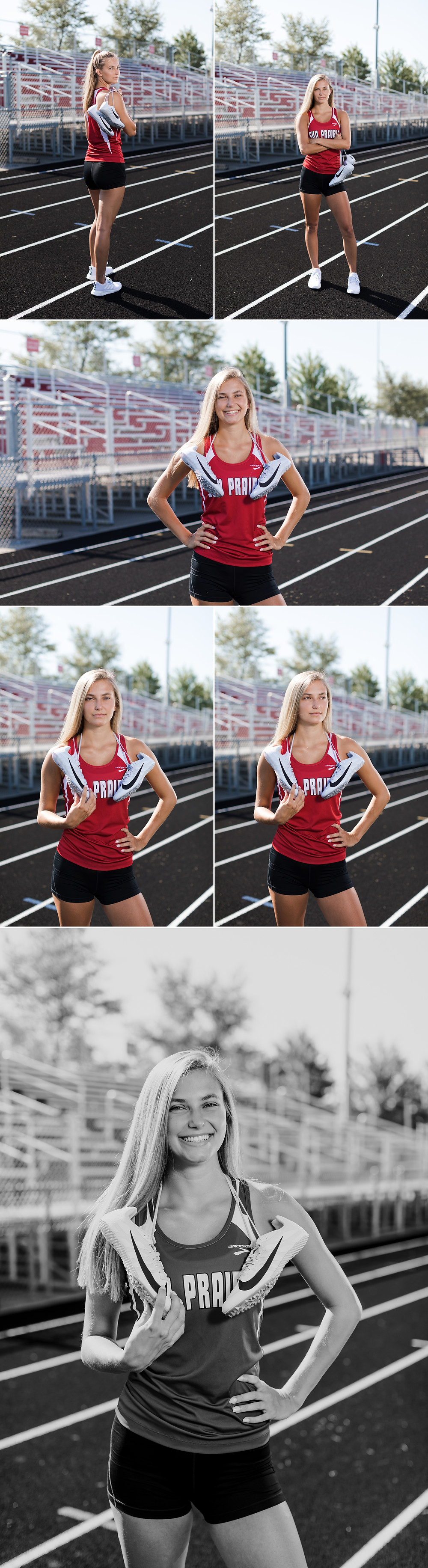 senior pictures track and field sun prairie
