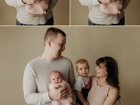 Blush & Creams [Newborn Studio Session]