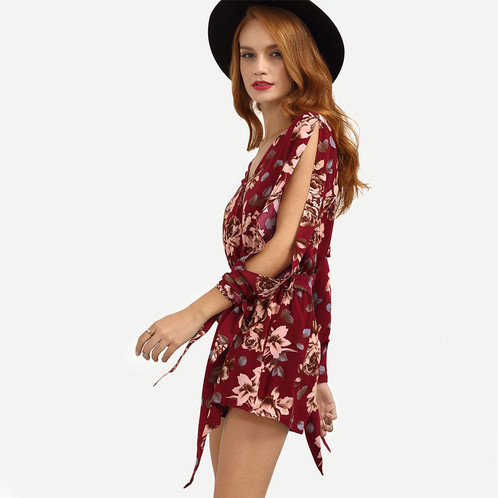 Floral Printes Jumpsuit Dress | Ebuybye offers fashion and quality ...