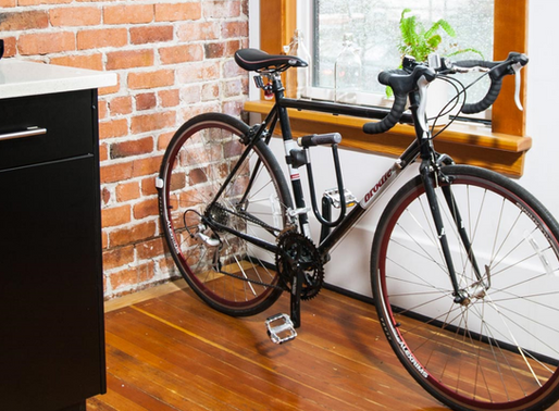 Where to Store a Bike in an Apartment