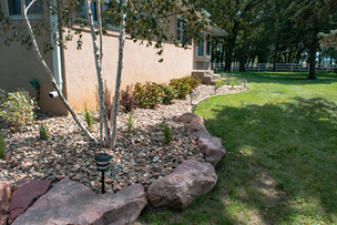 Rock Bed/Landscaping