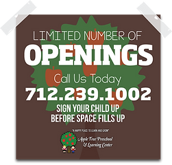 child care openings