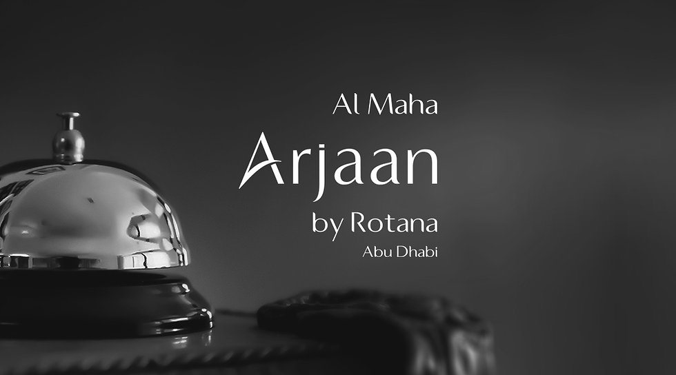 Al Maha Arjaan by Rotana Hotel, a client of AIM Creative Agency