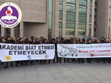 Turkey: Constitutional Court overturns terrorism charges against peace academics