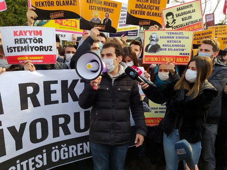 Turkish Government Prosecutes Four Bogazici Students for Inciting Enmity