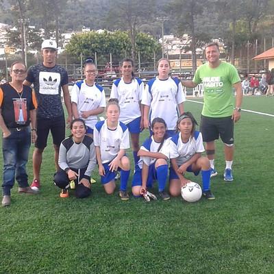 Futebol Feminino - Escola de Vida F.