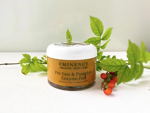 Seasonal Skin Care with Eminence Organics Pumpkin Products