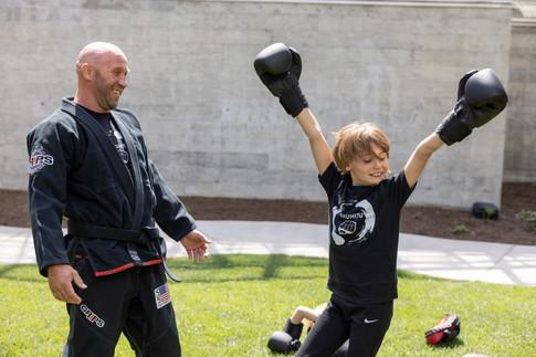 Martial Arts Movement August Kids Camp