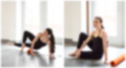 Restorative Rolling fitness class