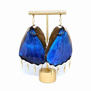Morphos Wing Earrings